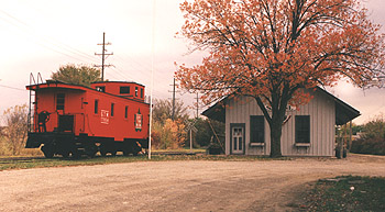 The Saline Historical Society Depot Museum