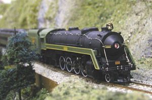 The most famous of the CN's &quot;Bullet-Nosed Betties&quot;<br>  brings a passenger excursion around Duane Heard's mountain.