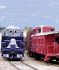 Two Wabash freights meet