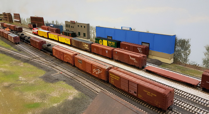 New industrial buildings at East Yard, built by Walt Trancygier