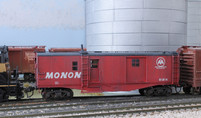 We now have a proper rider car for our Monon locals.